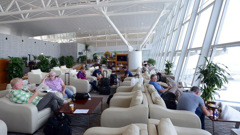 Phòng chờ sân bay quốc tế Nội Bài
