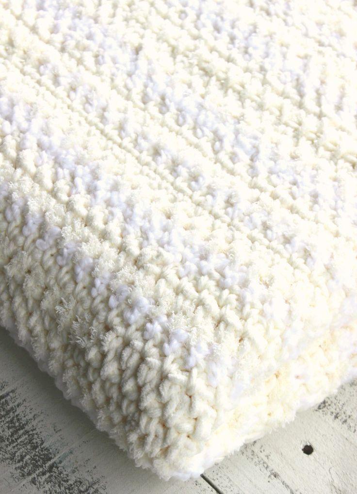 Crochet Sand Stitch Afghan