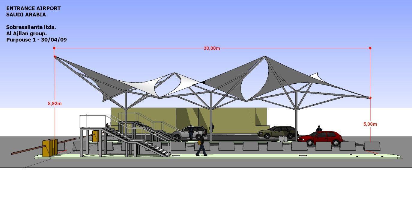 Entrance Airport Saudi Arabia 2009