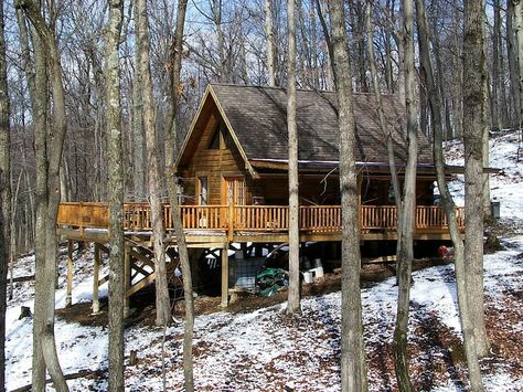 Cheap Hunting Cabin Plans | Click To Enlarge.