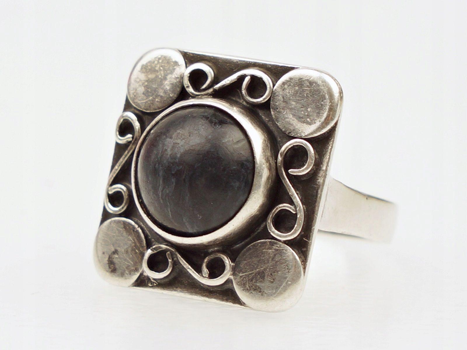 Pierscionek Rytosztuka Poznan Sodalit 8093399462 Oficjalne Archiwum Allegro Ringe Rings Metal Working