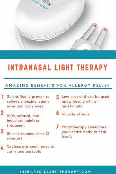 Best Intranasal Light Therapy Devices for Allergies