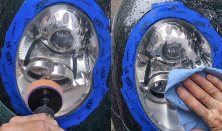 diy headlight cleaner bug spray