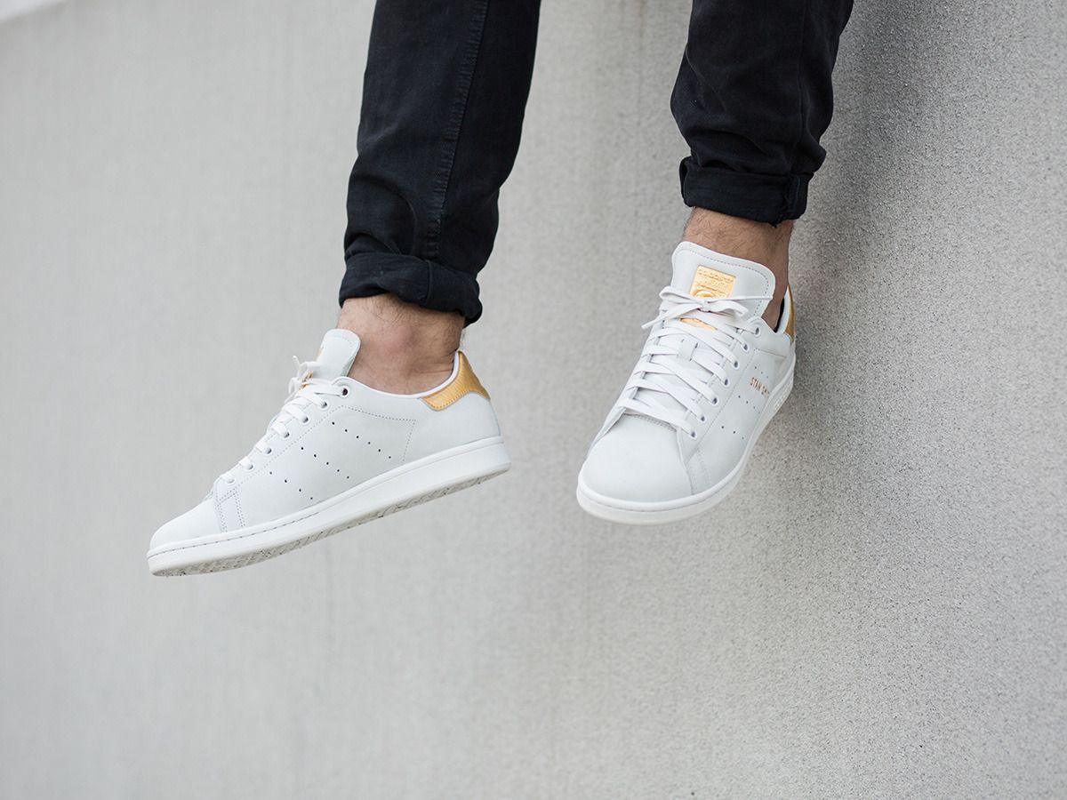 Buty Meskie Sneakersy Adidas Originals Stan Smith 24k S80506