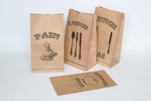 Vintage Lunch Bag Printables
