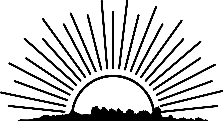 A Hidden Light Episode 7 Sun Art Sun Clip Art Rising Sun Tattoos