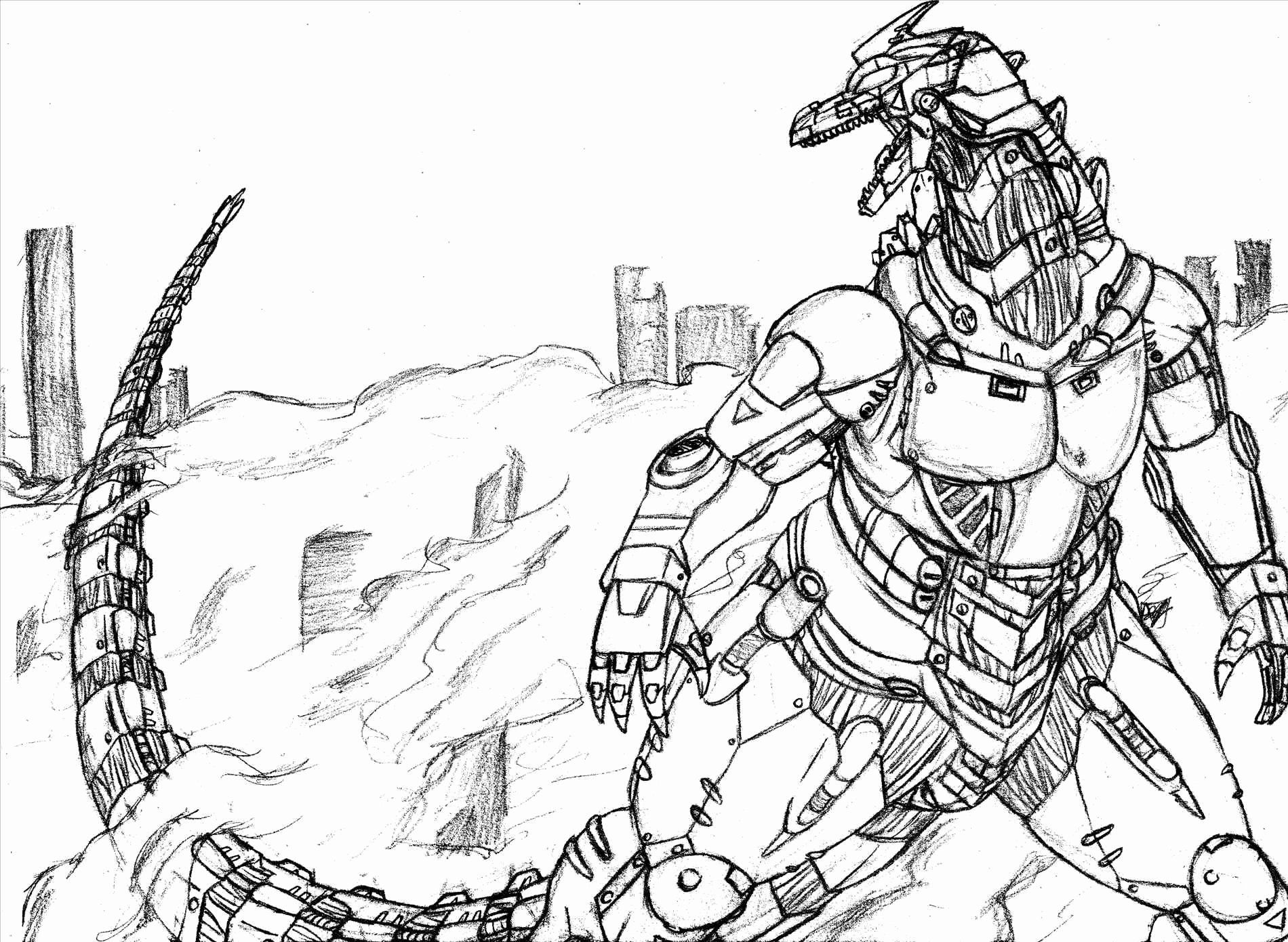 Zoo Keeper Coloring Page Luxury Mechagodzilla Coloring Pages At Getcolorings Dinosaur Pictures Kiryu Animal Coloring Pages