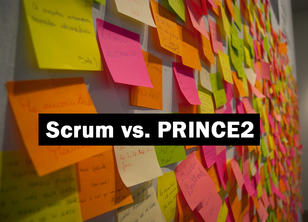 Scrum vs PRINCE2 - my thoughts
