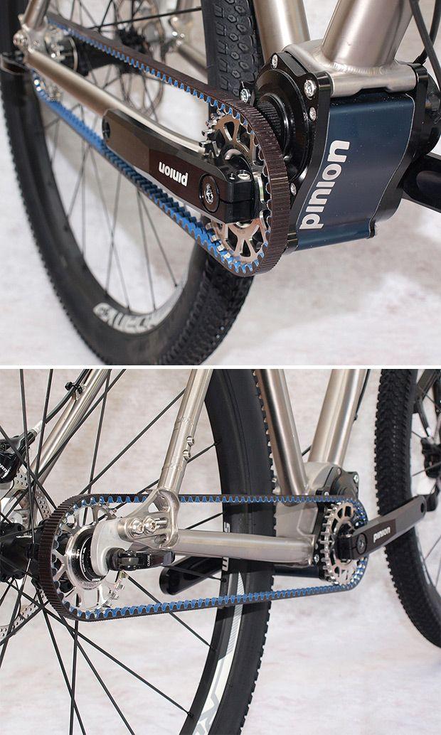 Axxis Zero: Cuadro de titanio, horquilla Lauf, transmisión Pinion y ...