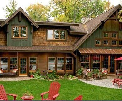 Fotos de casas de campo rusticas hermosas 6 exterior - Casas de campo bonitas ...