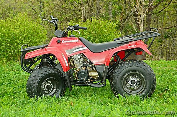 Bayou 220 250 KLF220 KLF250 Kawasaki Service Manual – Kawasaki Bayou 220 Wiring Lights