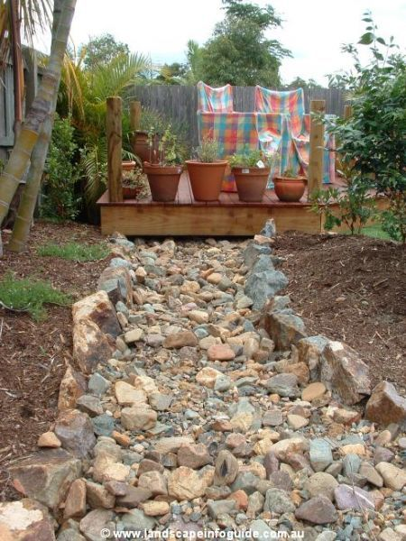 25 Gorgeous Dry Creek Bed Design Ideas Gardens Dry creek and