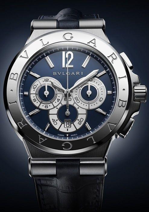Bulgari - Bulgari's New Diagono Watches: Celestial Poetry and Precision Measurement