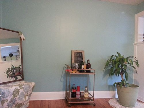 Picking Paint Colors Sherwin Williams Meander Blue