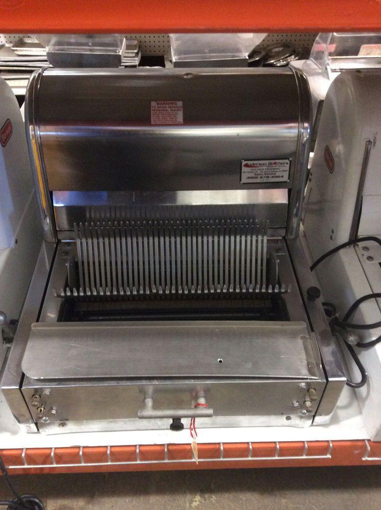 Berkel Mb Commercial Countertop Bread Slicer 7 8 Slice Berkel Restaurant Equipment Types Of Bread