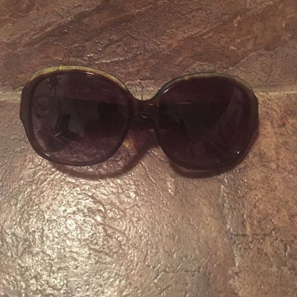 Michael Kors sunglasses! They are too big on me and have a few scratches on the front but they are super cute!! Michael Kors Accessories Sunglasses