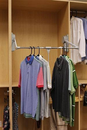 This Would Be Great For Our Closet Would Be Able To Maximize The Space Wardrobe Systems Wardrobe Closet Wardrobe