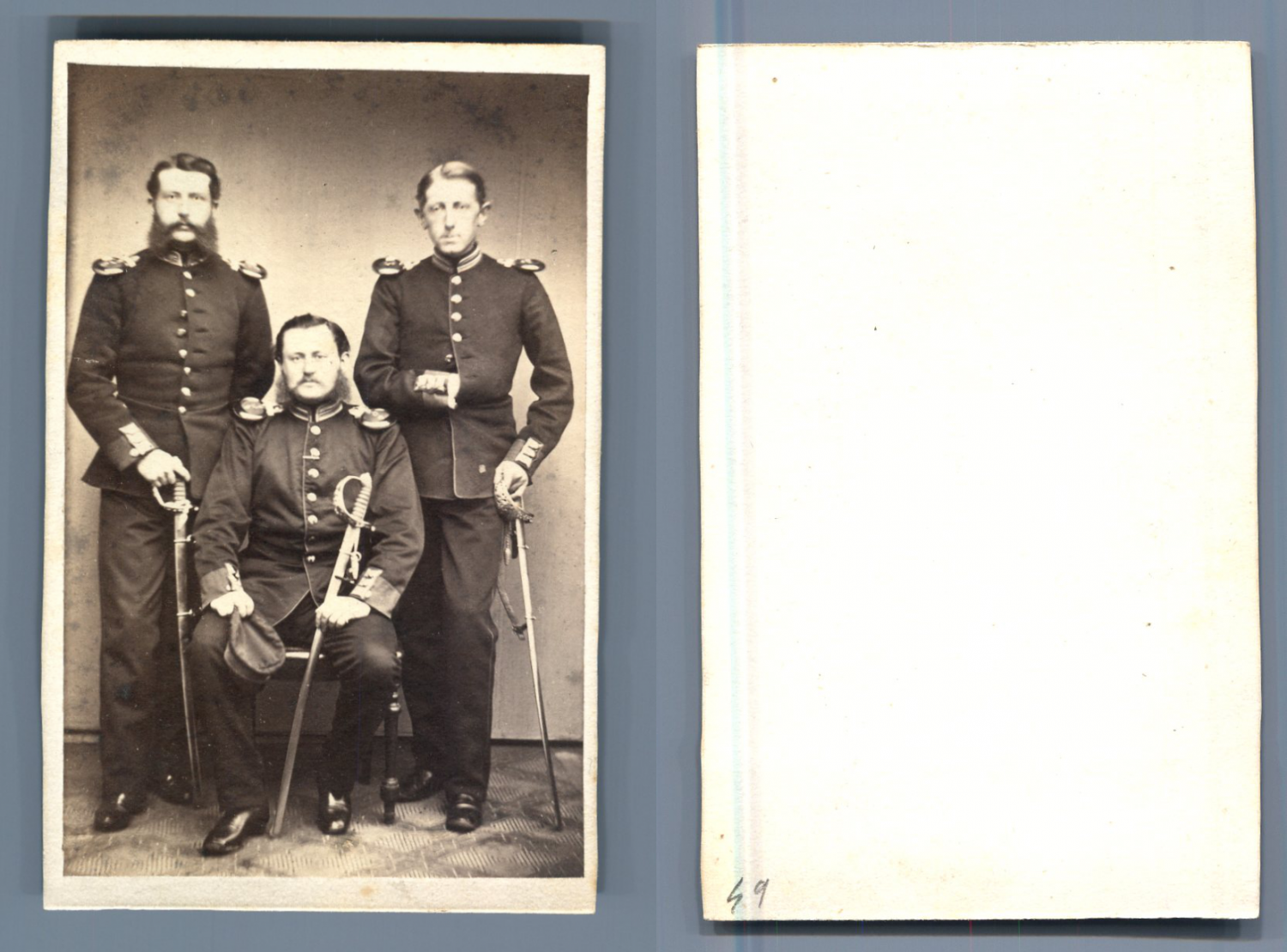 german officer    #CDV #portraits #Militaires