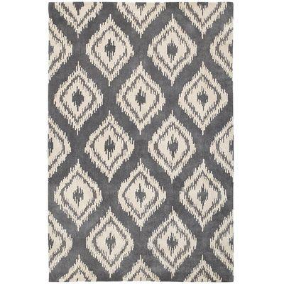 Ikat Diamond Rugs Gray Navy Rug Rugs On Carpet Grey Rugs