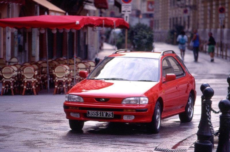 1993   #Subaru #Impreza #Sports #Wagon Tanıtıldı