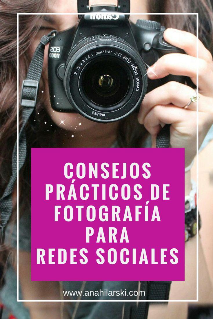 Consejos prácticos de Fotografía para Redes Sociales ¿Conoces las ventajas de compartir fotos en las Redes Sociales? #redessociales #fotografia #socialmedia #visualmarketing