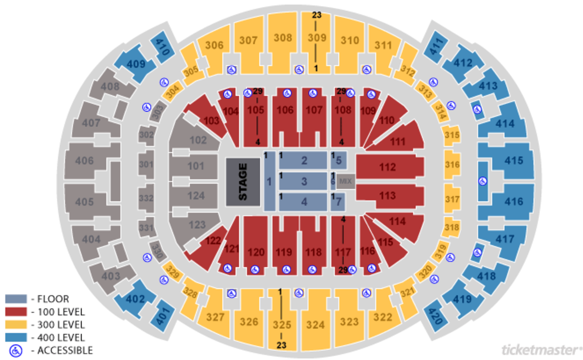 American Airlines Stadium Miami Seating Chart In 2020 American Airlines Arena American Airlines Center Shawn Mendes Concert Tickets