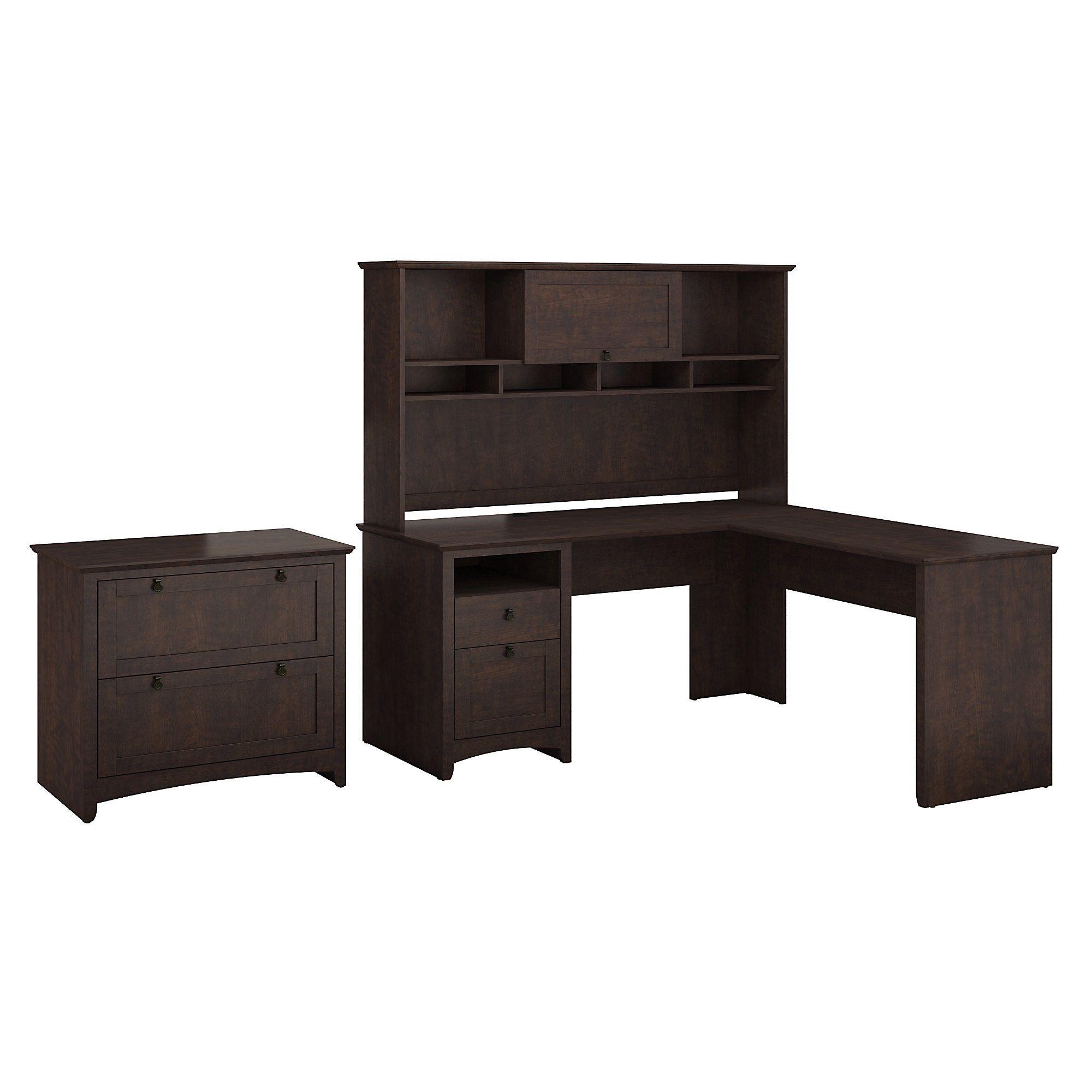 Computer Desk Target Home Brown Bush Furniture