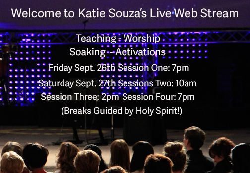 """Katie Souza's """"Expected End Ministries"""" Live Web Stream - """"Healing Your Soul"""".  EXCELLENT!!"""