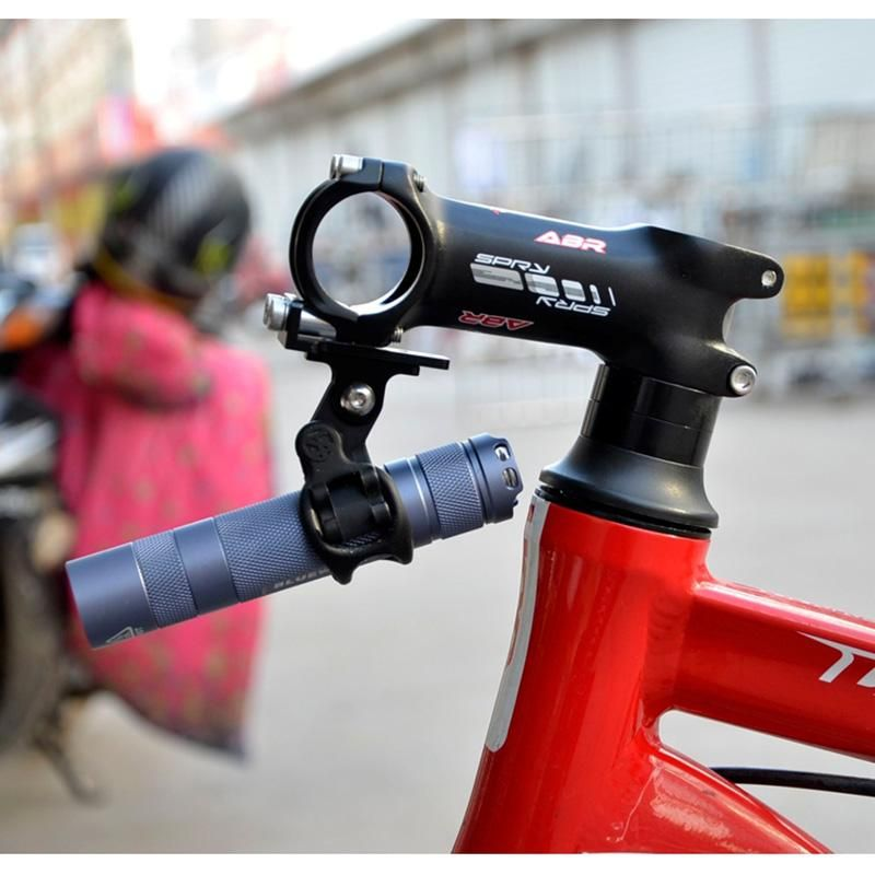 Bicycle Bike Light Flashlight Holder Clamp Mount Adapter For Go Pro Type