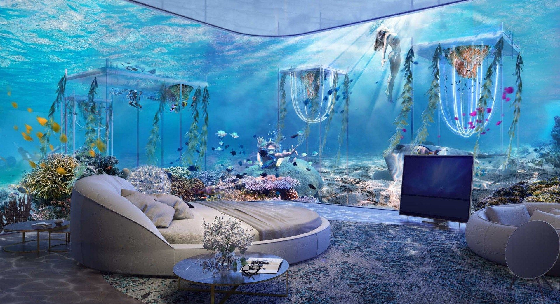 World Underwater Luxury Vessel Resort Coming