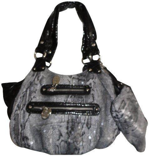 Women's Kathy Van Zeeland Purse Handbag All Nighter Medium Shopper White/Black  KATHY Van Zeeland , http://www.amazon.com/dp/B004NW44WQ/ref=cm_sw_r_pi_dp_7ZjGpb0MCPHEK