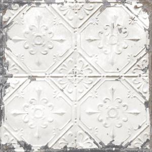 Vintage Tin Tile L And Stick Wallpaper Sample