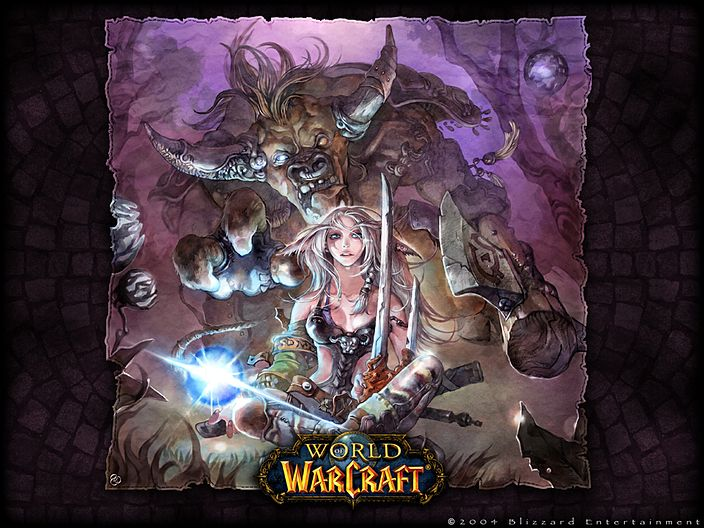 Tauren High Elf World Of Warcraft Wallpaper World Of