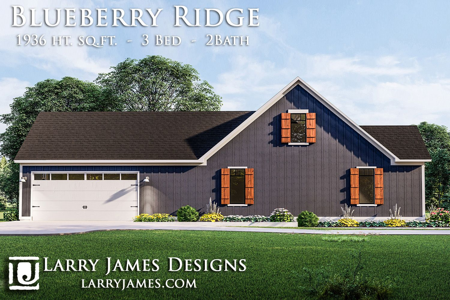 Blueberry Ridge House Plan Modern Farmhouse Plans Craftsman House Plans Barn House Plans