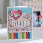 Thanks Card / Fancy Pants Designs