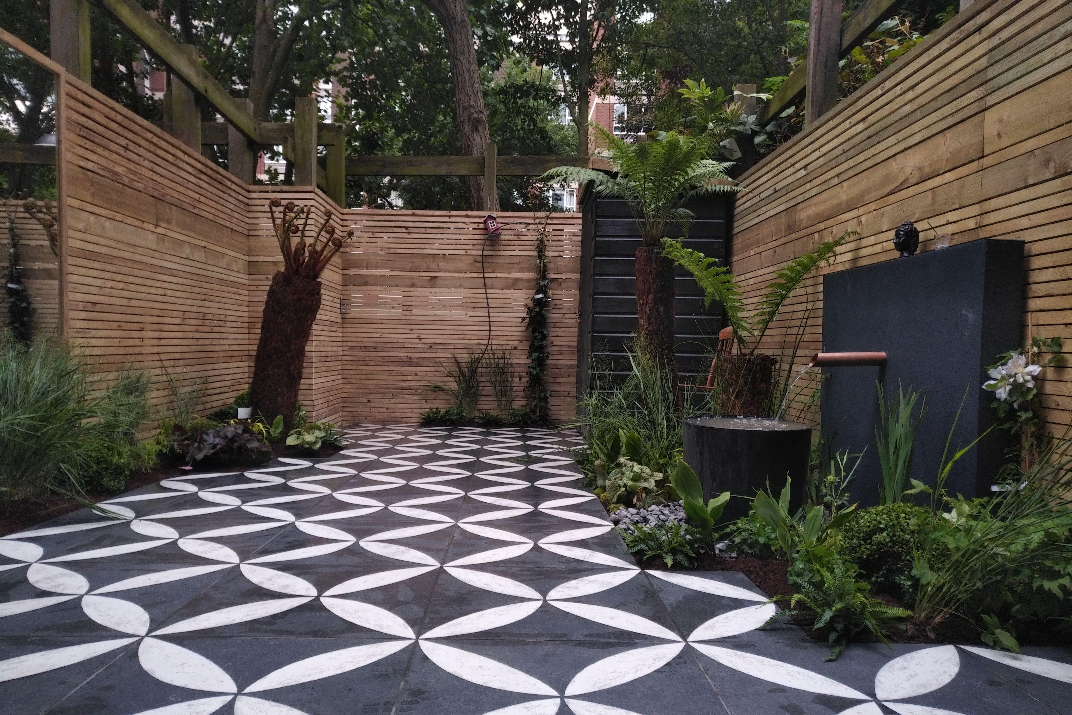 Garden Builders Modern Courtyard Anewgarden Design Cat Howard