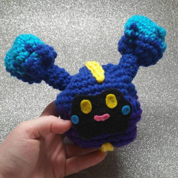 Get in the bag, Nebby! cute little #amigurumi pokemon plush ...