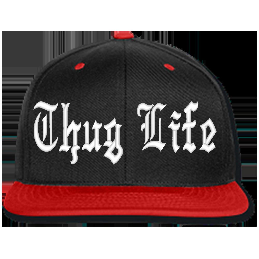 Thug Life Beanie Or Snapback Hat Teeeshop Thug Life Thug Hot Hats