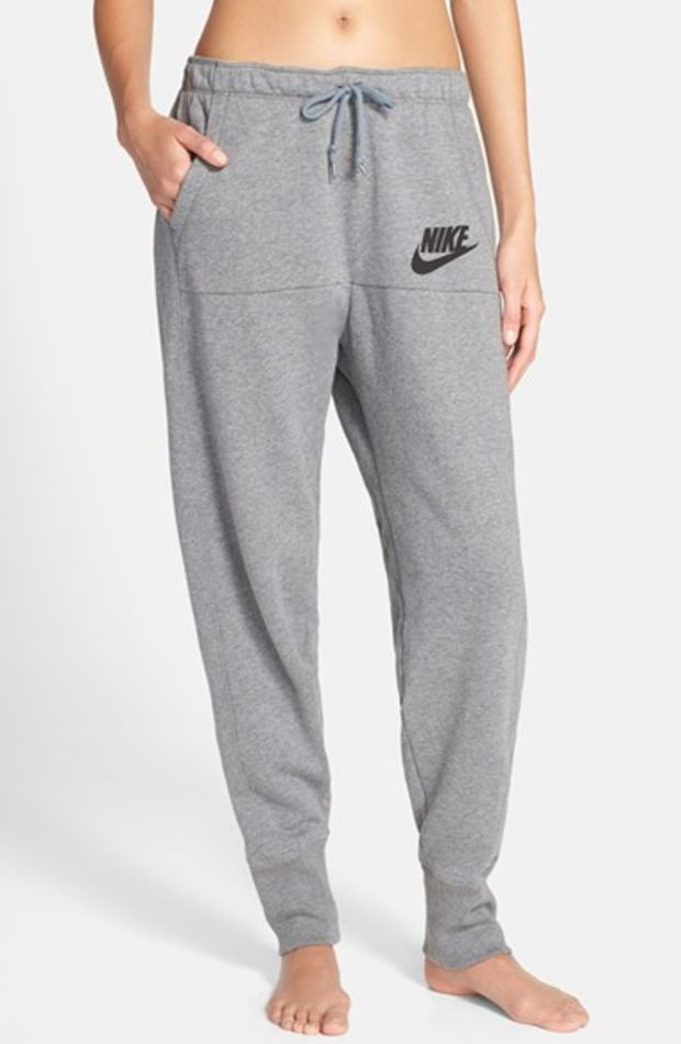 VINTAGE NIKE SPORT WOMENS GRAY LOOSE FIT TRACKSUIT pants