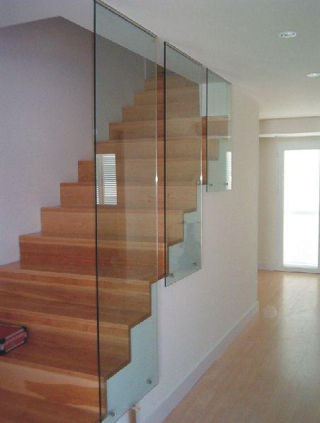 Barandillas escaleras cristal buscar con google ideas - Barandillas para escaleras interiores modernas ...