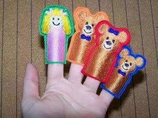 Goldilocks and 3 Bears - SewingForSarah.Webs.Com