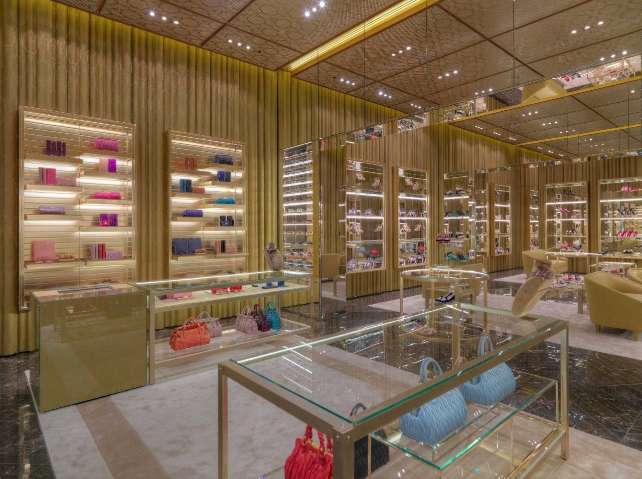 e8bed9b290e4 Miu Miu opens a new flagship store in the heart of Dubai ...