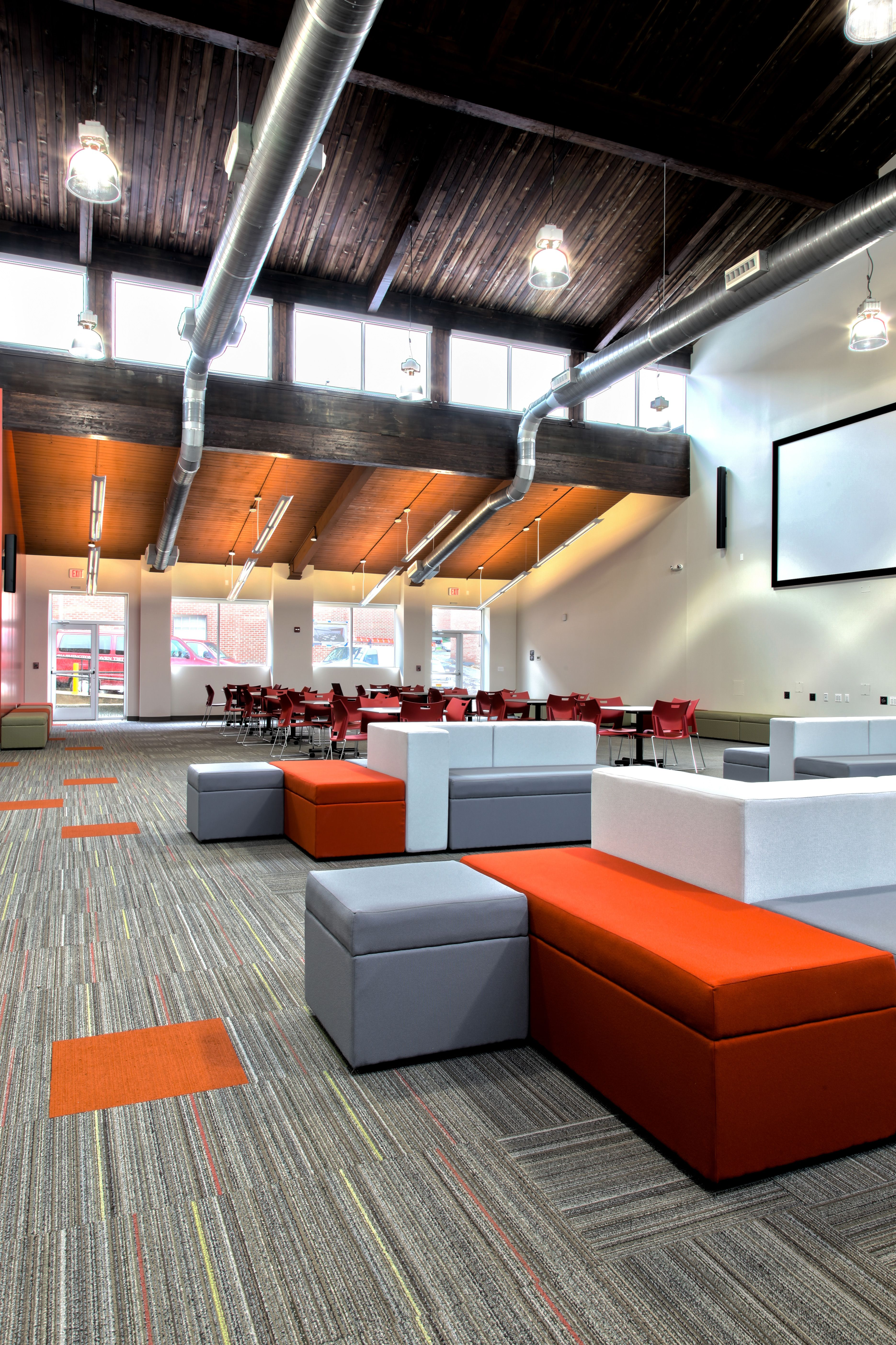 washington adventist university student center lounge interior student house college. Black Bedroom Furniture Sets. Home Design Ideas