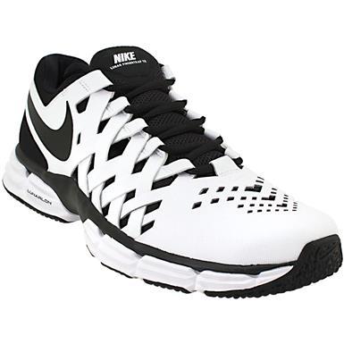 Nike Lunar Finger Trap Training Shoes Mens Black White