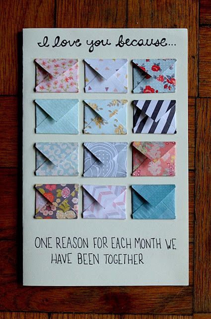 Diy Anniversary Card Crafts Pinterest Gifts Diy Birthday And