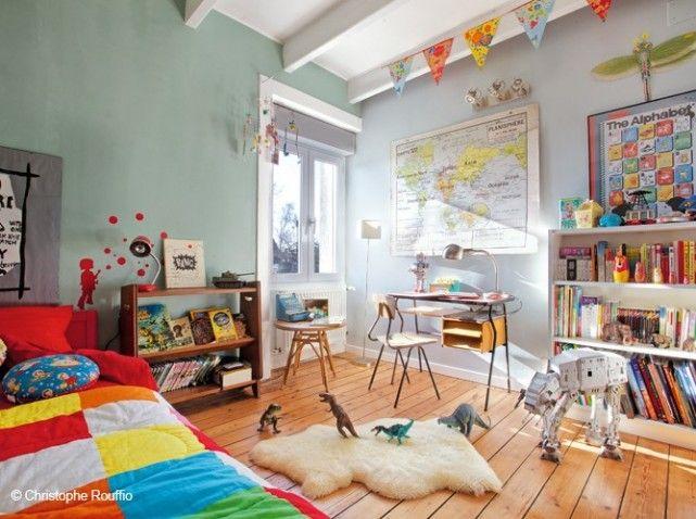 Chambre d\'enfants façon sixties #chambre #chambreenfants #deco ...