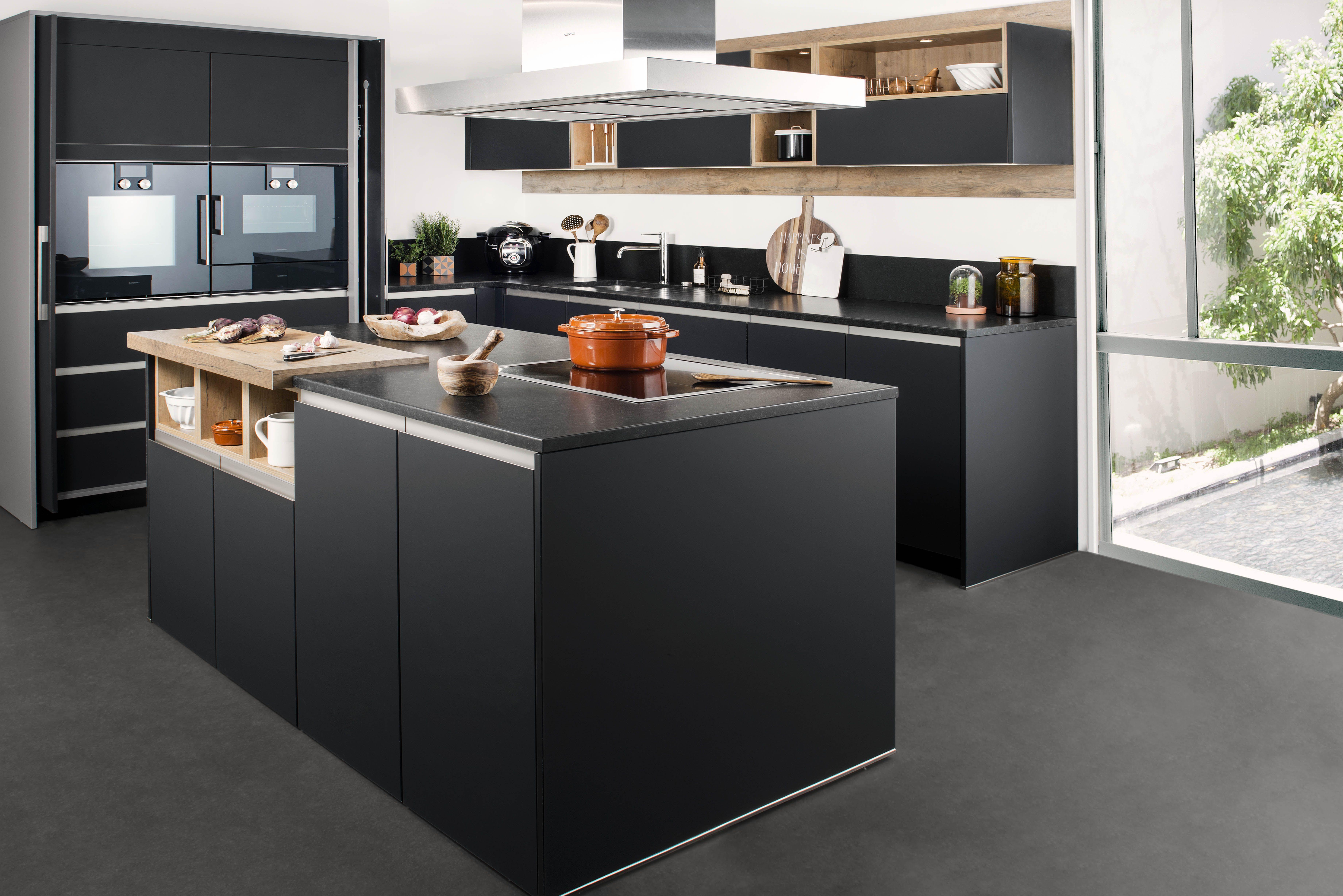 nova avec la fa ade nova vous avez une cuisine tr s moderne et tr s esth tique l aspect. Black Bedroom Furniture Sets. Home Design Ideas