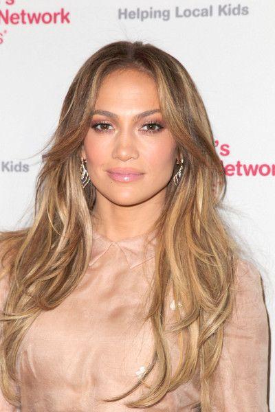 Jennifer Lopez Long Wavy Cut - Long Hairstyles Lookbook - StyleBistro