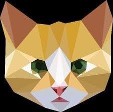 coolTop Geometric Tattoo - Resultado de imagem para cat geometric tattoo...
