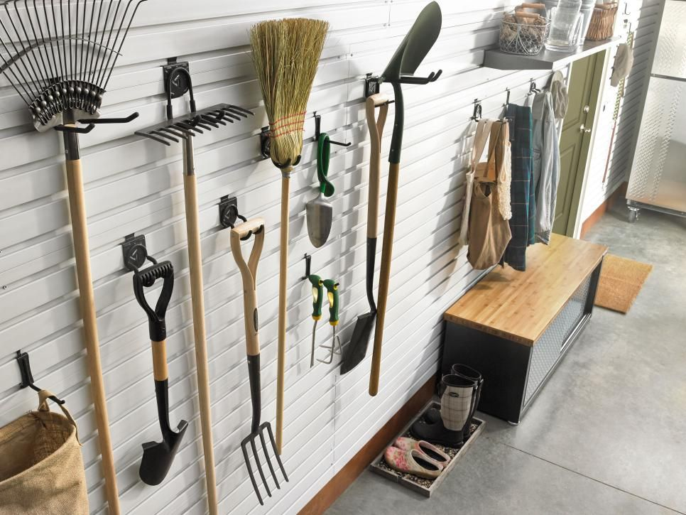 garage organization hook and hanger ideas garage wall on cool diy garage organization ideas 7 measure guide on garage organization id=43376